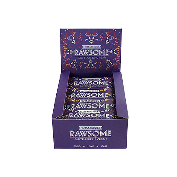 Rawsome Nuts & Berries Bar 40 g 1 kutu- 16 adet