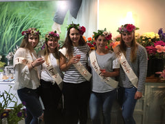 Hen's Party Flower Crowns Wellington