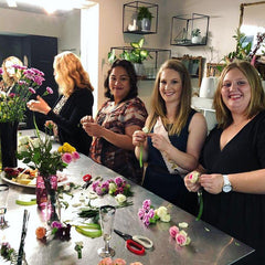 Hen's Party Workshop Wellington Florist