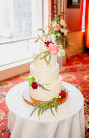 Wedding Cake Flowers Wellington Florist