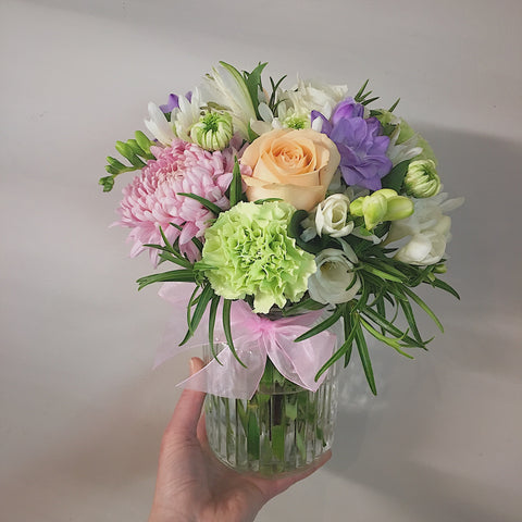 Beautiful Posy in Vase