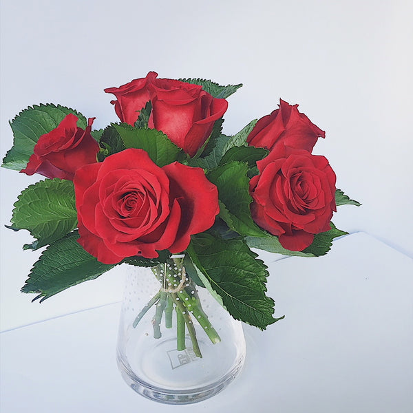 valentines, red rose, wellington, cbd, valentines day, delivery, juliette florist