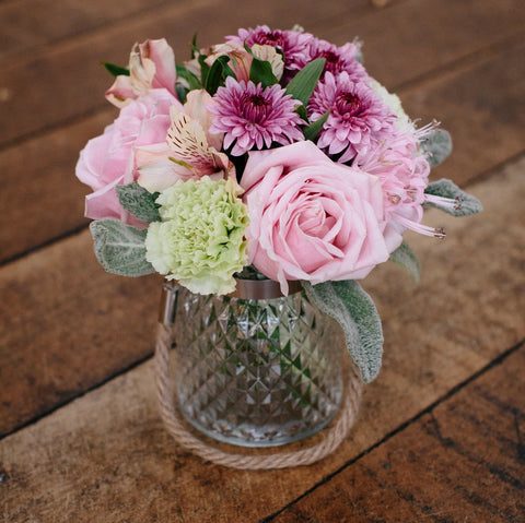 Beautiful Vase with Posy