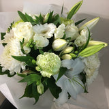 Whites, greens, bouquet, delivered, Wellington, karori, Kelburn, Khandallah