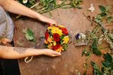 winter workshop, flower arranging, flower classes, wellington