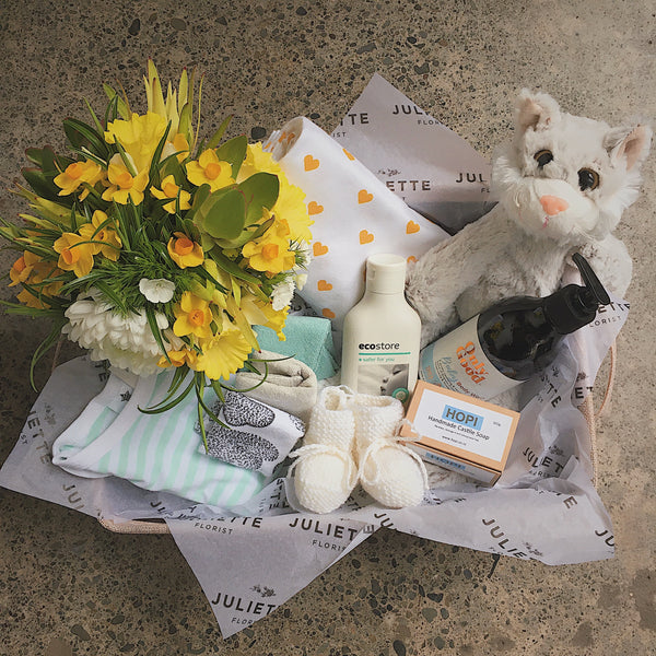 baby gift basket hamper wellington