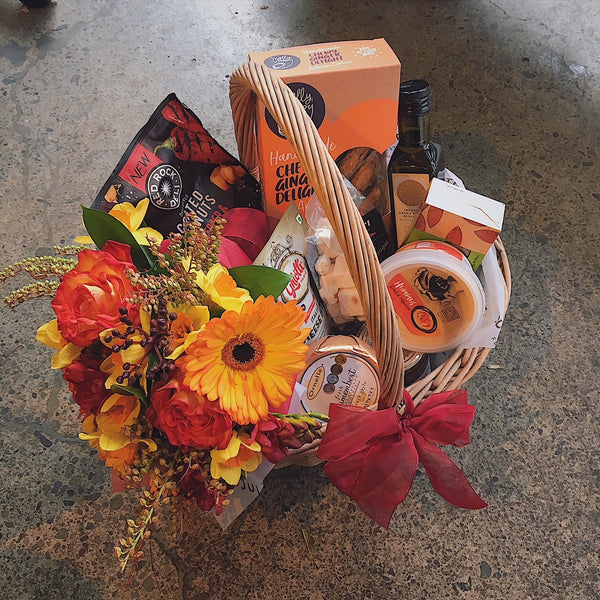 gift basket hamper gourmet wellington delivered