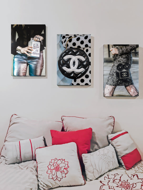 Fashion Wall Art - Recoveted