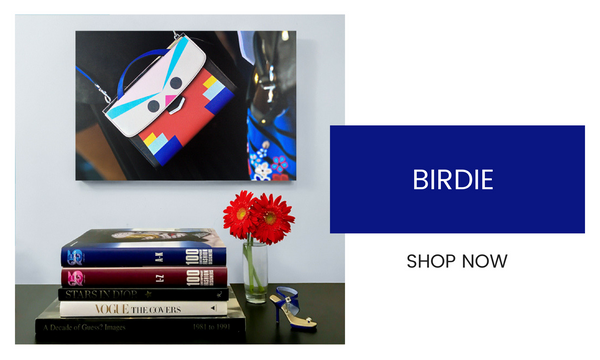 Fashion Wall Art - Birdie - Recoveted