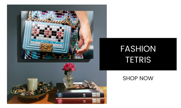 Fashion Wall Art - Fashion Tetris - Recoveted