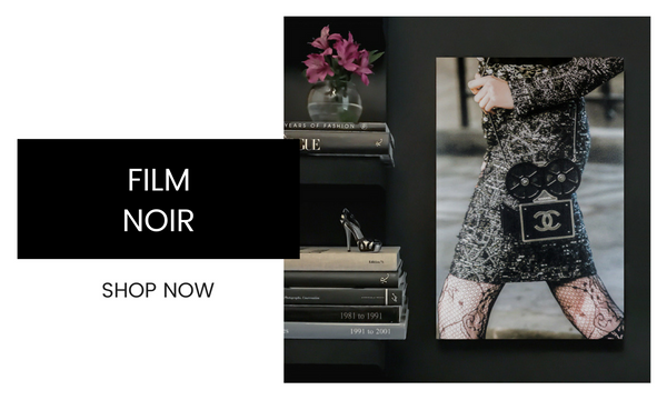 Fashion Wall Art - Film Noir - Recoveted
