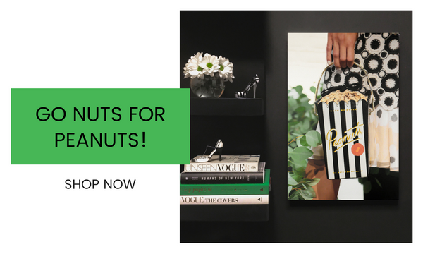 Fashion Wall Art - Go Nuts For Peanuts! - Recoveted