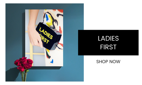 Fashion Wall Art - Ladies First - Recoveted