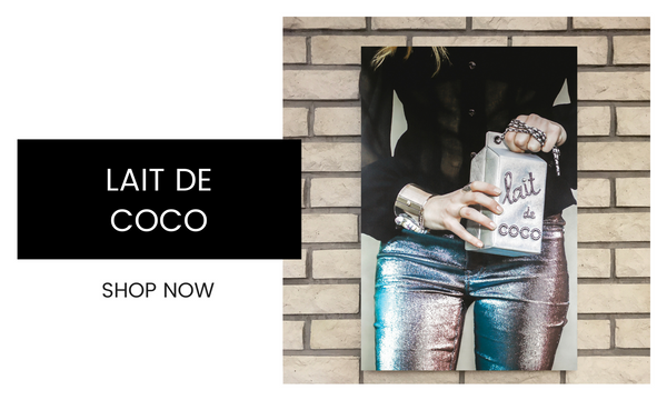 Fashion Wall Art - Lait de Coco - Recoveted