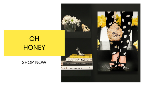 Fashion Wall Art - Oh Honey - Recoveted