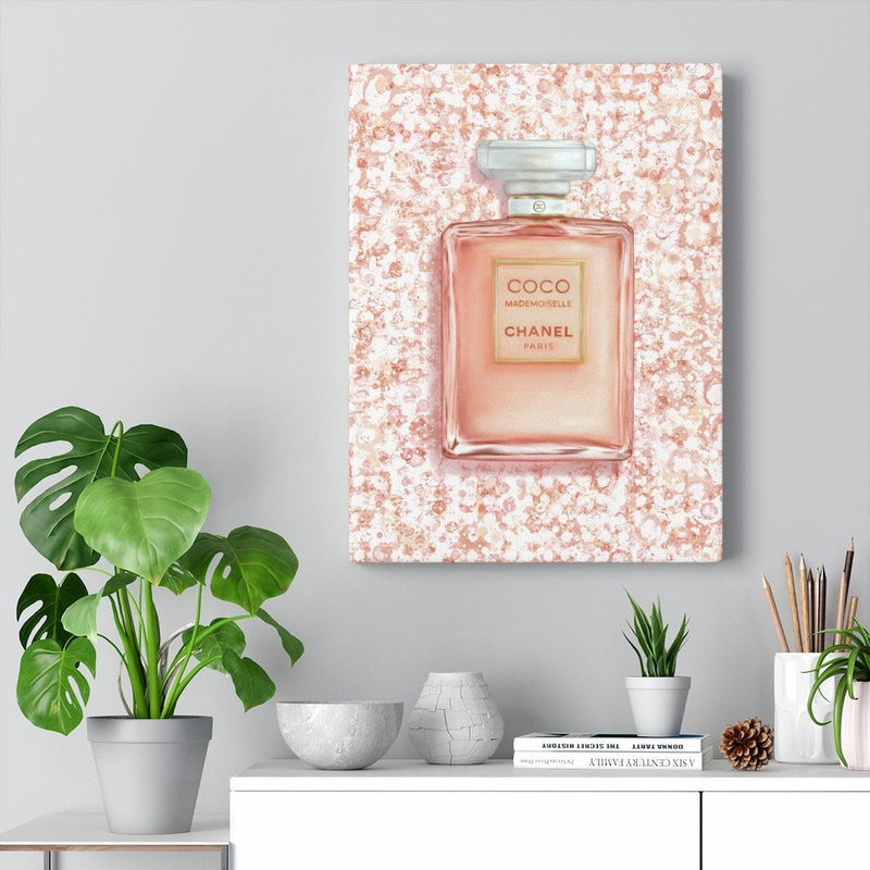Fragrance Mademoiselle | Canvas Art