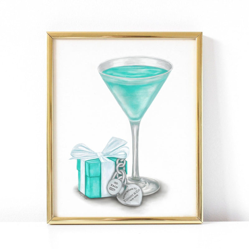 Martini Blues | Fine Art Print