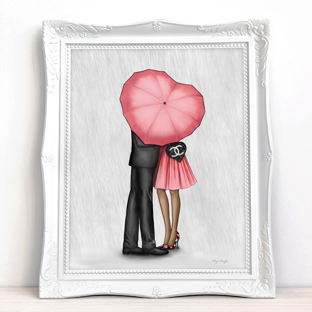 Raining Love (Pink) | Fine Art Print