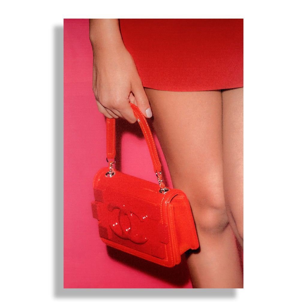 Candy Red | Fashion Art Print - RECOVETED - Fashion Art Prints