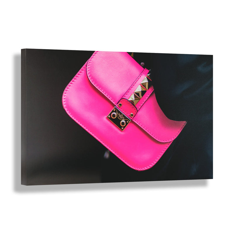 Fuchsia Fashionista | Fashion Art Print - RECOVETED - Fashion Art Prints