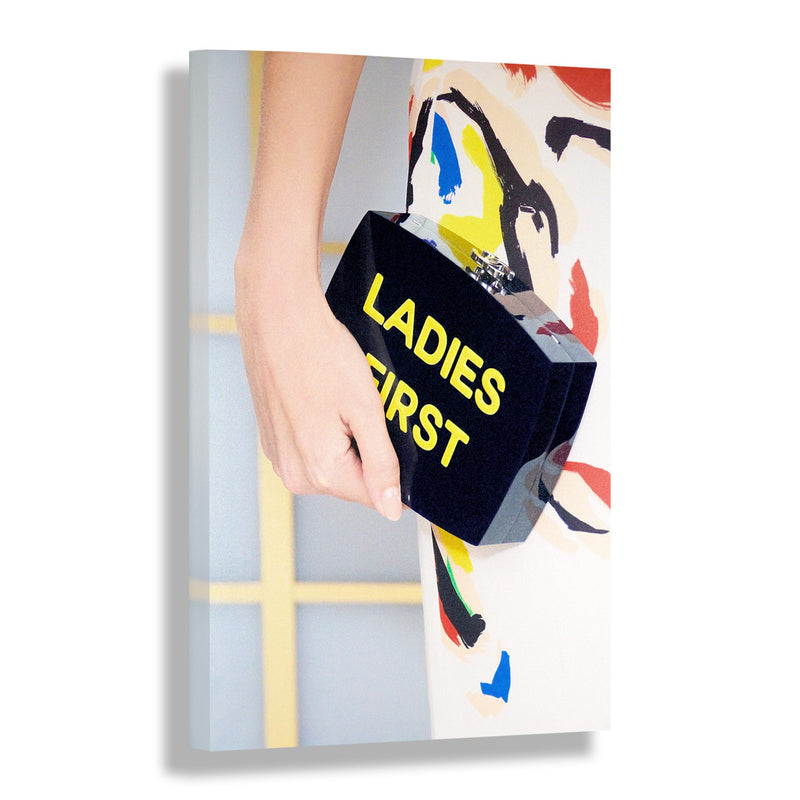 Ladies First | Fashion Art Print - RECOVETED - Fashion Art Prints