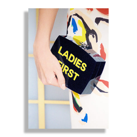 Ladies First | Fashion Art Print