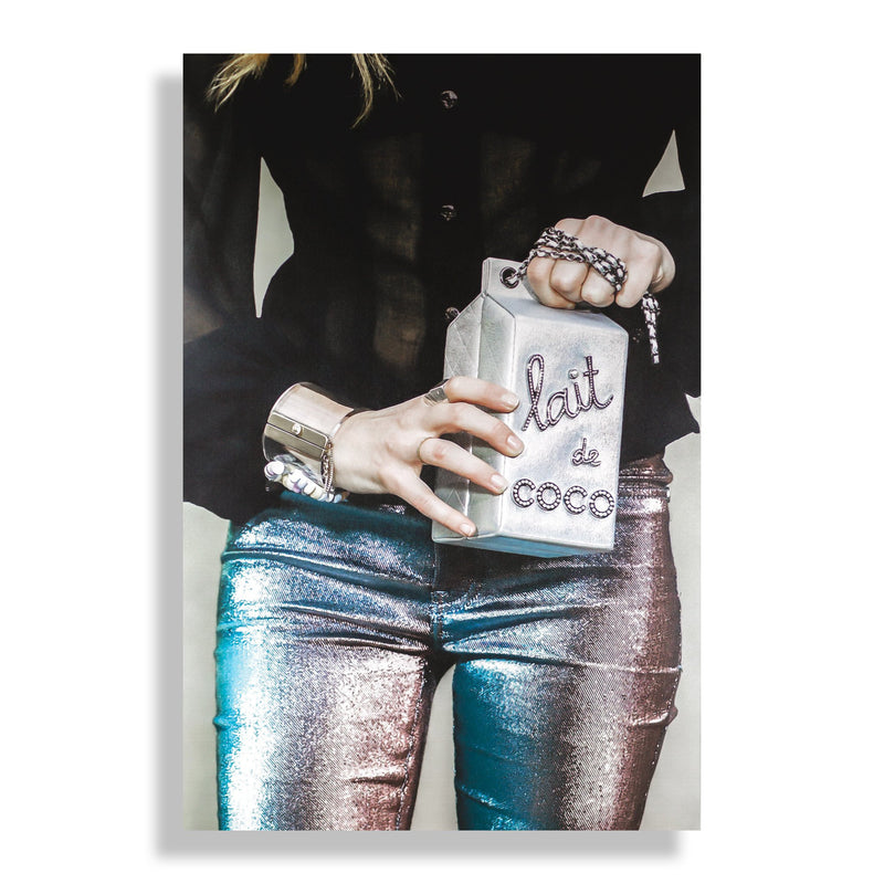 Lait de Coco | Fashion Art Print - RECOVETED - Fashion Art Prints