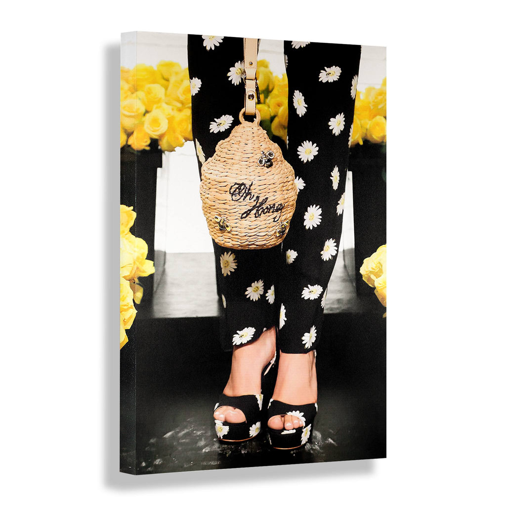 Oh Honey | Fashion Art Print - RECOVETED - Fashion Art Prints