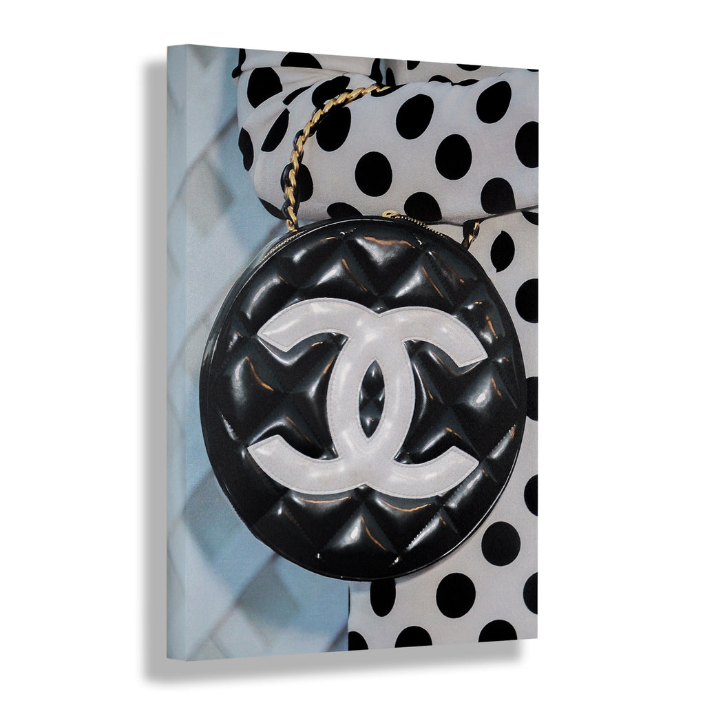 Polka Dotted | Fashion Art Print - RECOVETED - Fashion Art Prints