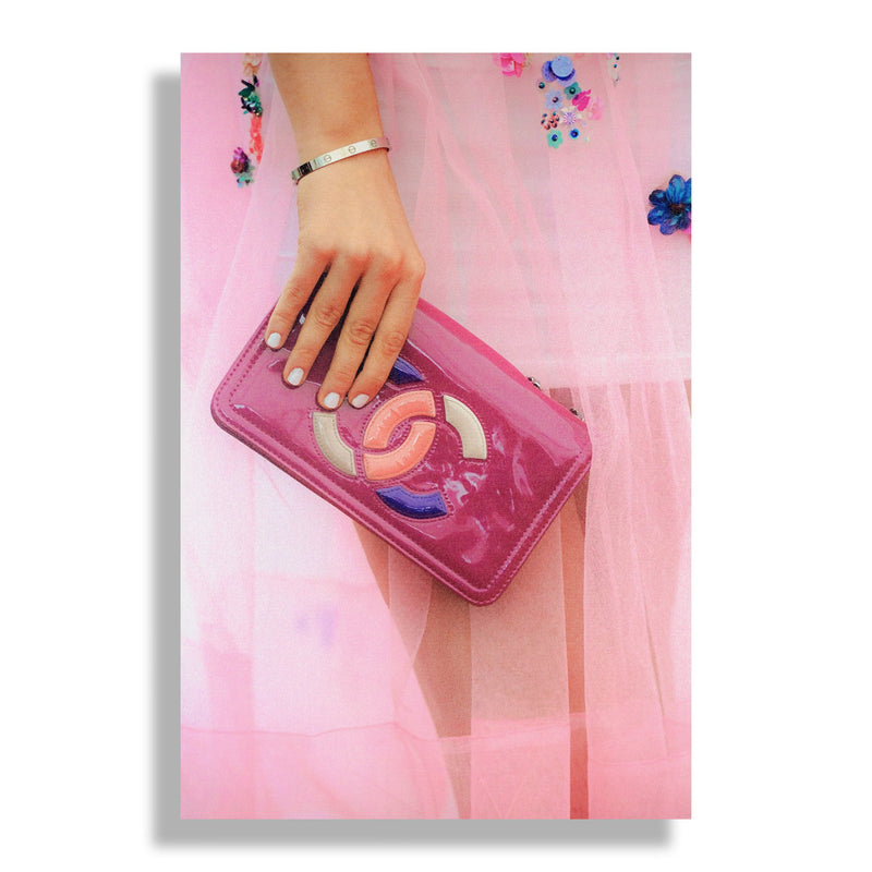 Pretty in Pink | Fashion Art Print - RECOVETED - Fashion Art Prints