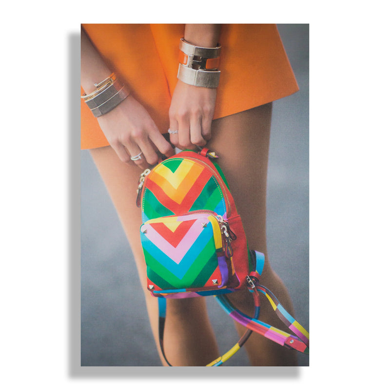 Rainbow Bright | Fashion Art Print - RECOVETED - Fashion Art Prints