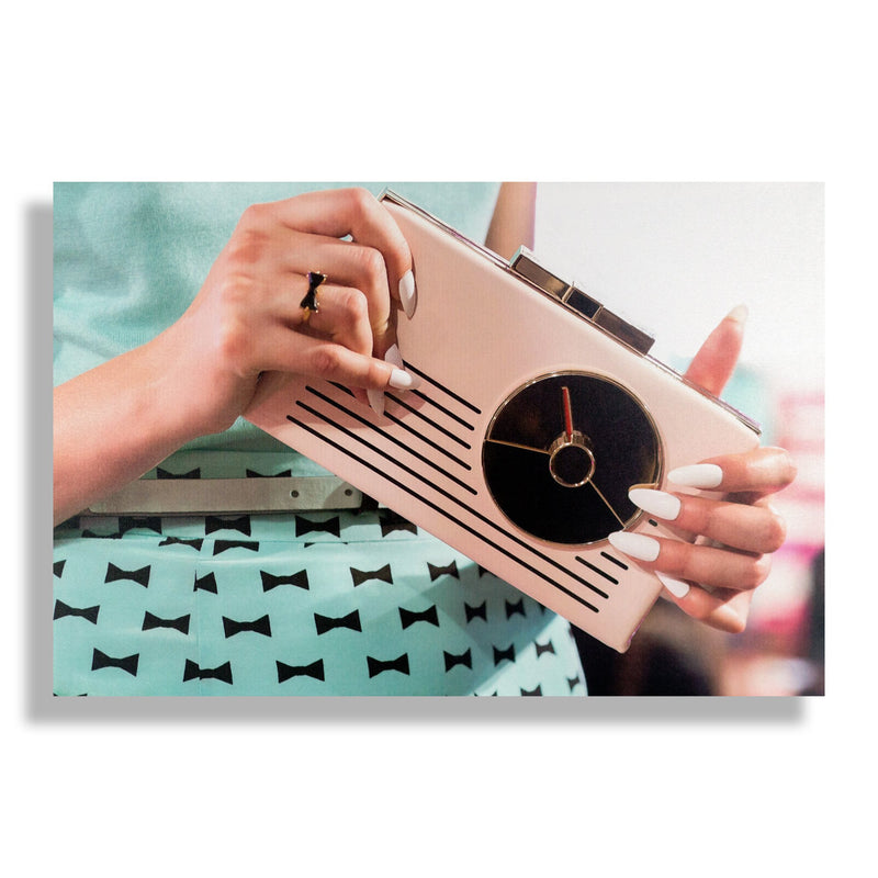 Retro Radio | Fashion Art Print - RECOVETED - Fashion Art Prints