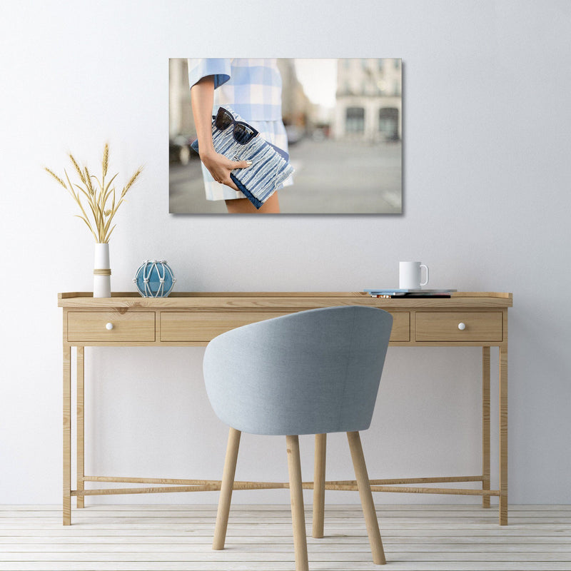 Recoveted- Fashion Wall Art - Shades of Blue