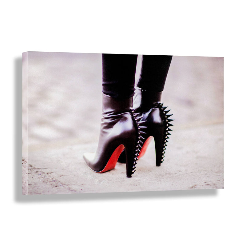 Spiked | Fashion Art Print - RECOVETED - Fashion Art Prints