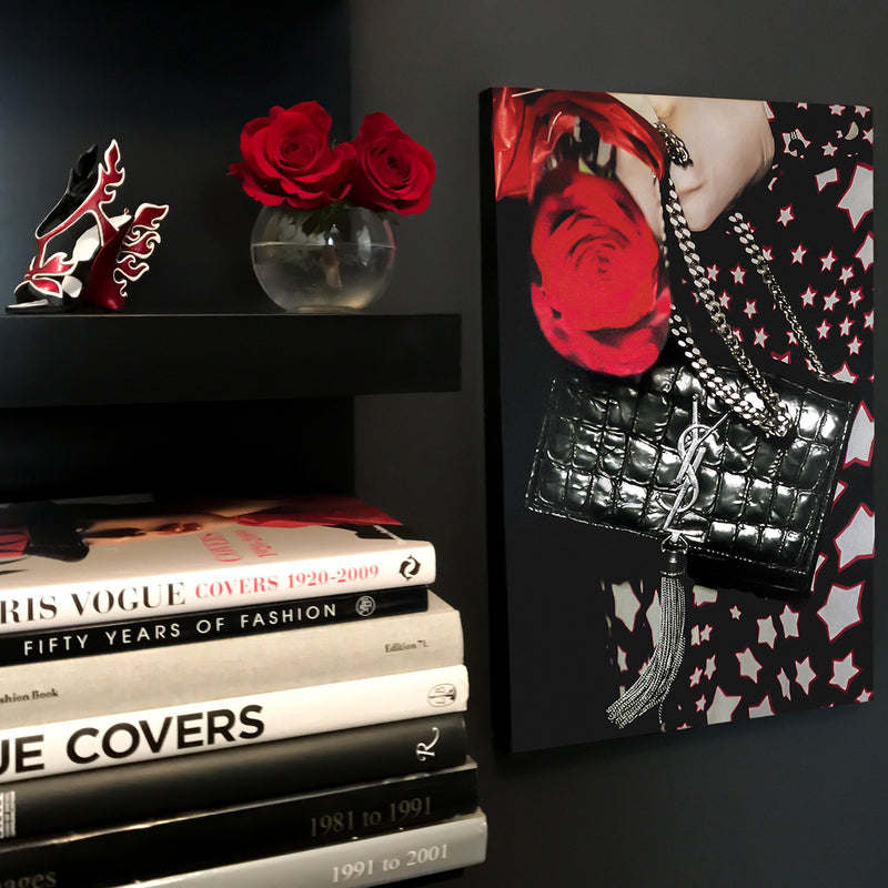 Stars & Roses | Fashion Art Print - RECOVETED - Fashion Art Prints