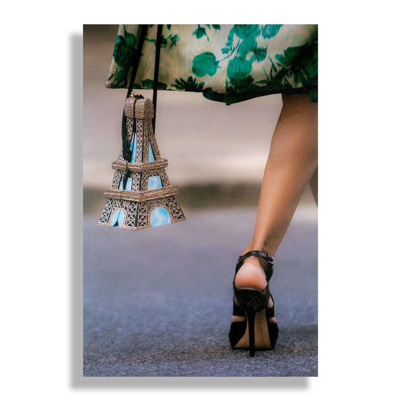 Take Me To Paris | Fashion Art Print - RECOVETED - Fashion Art Prints