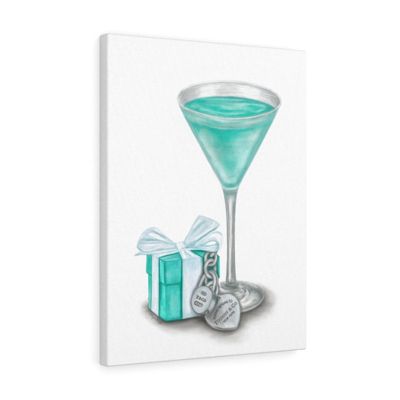 Martini Blues | Canvas Art