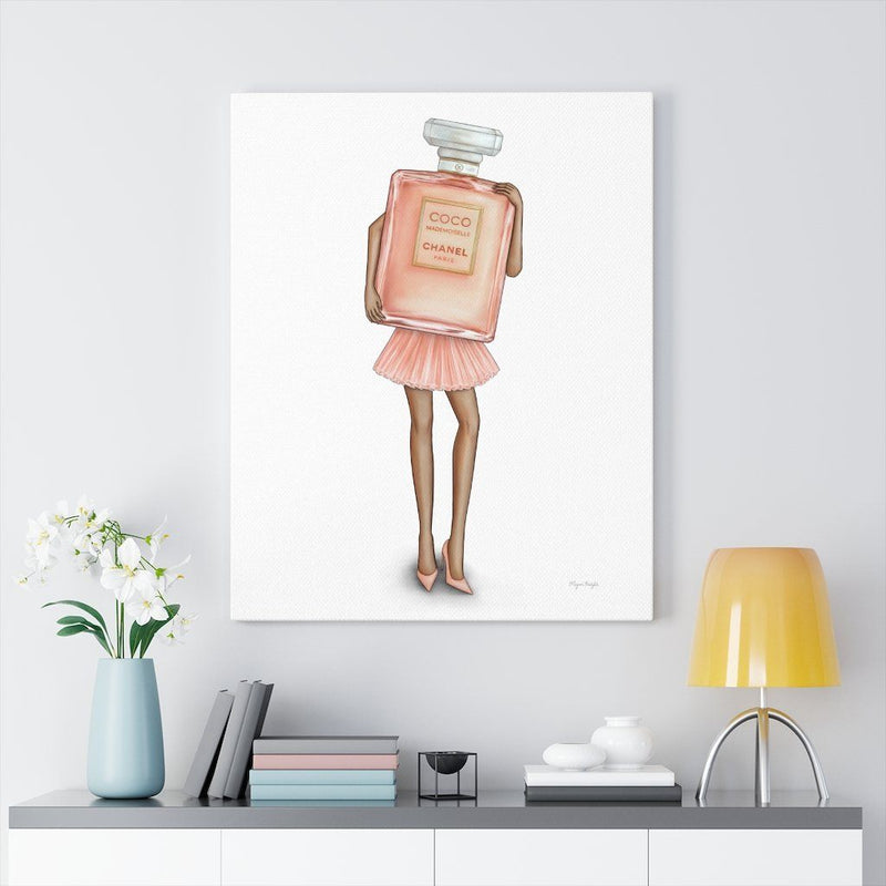 Mademoiselle Fragrance Gal | Canvas Art
