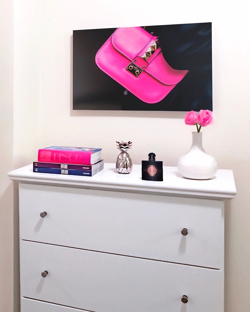 Fuchsia Fashionista | Canvas Art