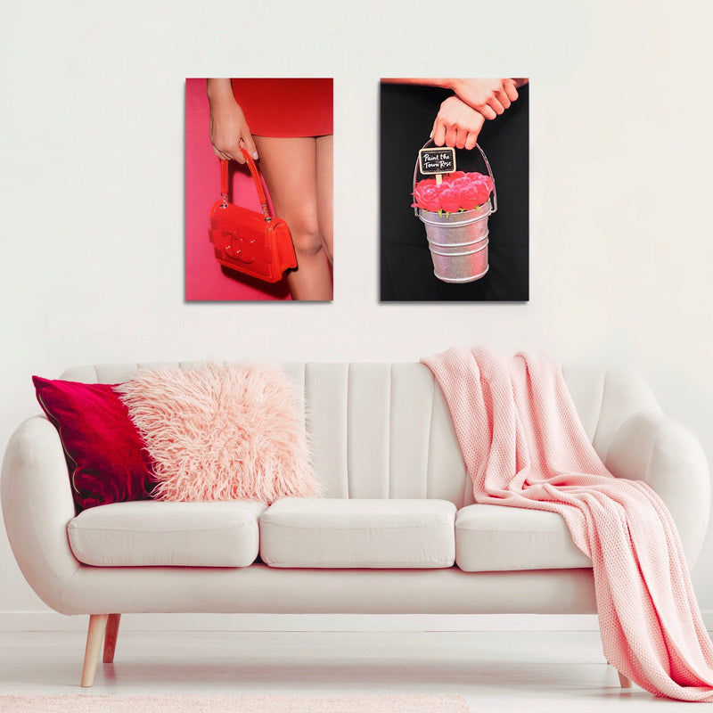 Candy Red | Canvas Art