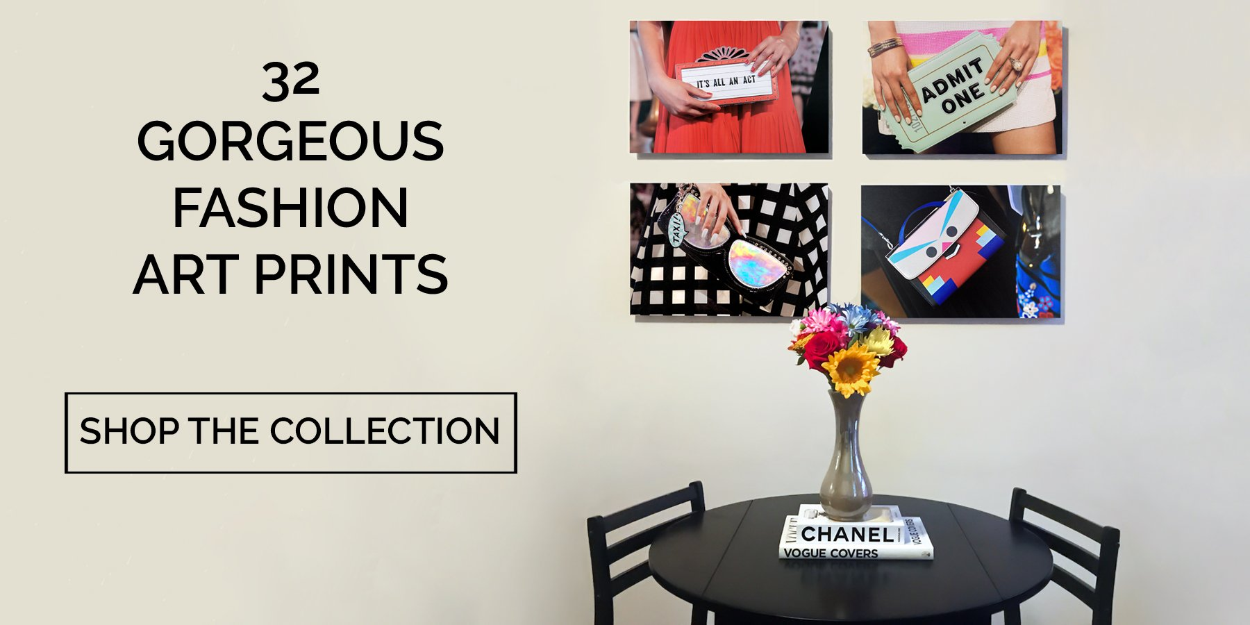 Gorgeous Fashion Art Prints - Recoveted