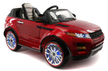 Range Rover Style 12V Kids Ride-On Car MP3,4 Battery Powered LED Wheels R/C Cherry Red