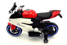 Street Racer 12V Electric Kids Ride-On Motorcycle | Red