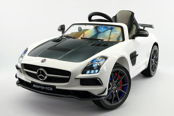 Mercedes Sls Amg Battery Powered Ride On Car With Mp3 Mp4