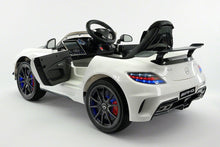MERCEDES BENZ SLS  RIDE-ON TOY CAR WITH PARENTAL REMOTE MP4 | WHITE
