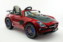 MERCEDES BENZ SLS  RIDE-ON TOY CAR WITH PARENTAL REMOTE MP4 | CHERRY
