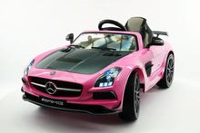 Mercedes SLS AMG Battery Powered Ride On Car with MP3 MP4 and Remote Control Pink