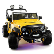 SUV Explorer 12V Kids Ride-On Toy Car Truck With R/C Parental Remote | Yellow