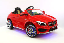 Mercedes CLA45 12V Kids Ride-On Car MP3 USB Player Battery Powered Wheels R/C Parental Remote | Red