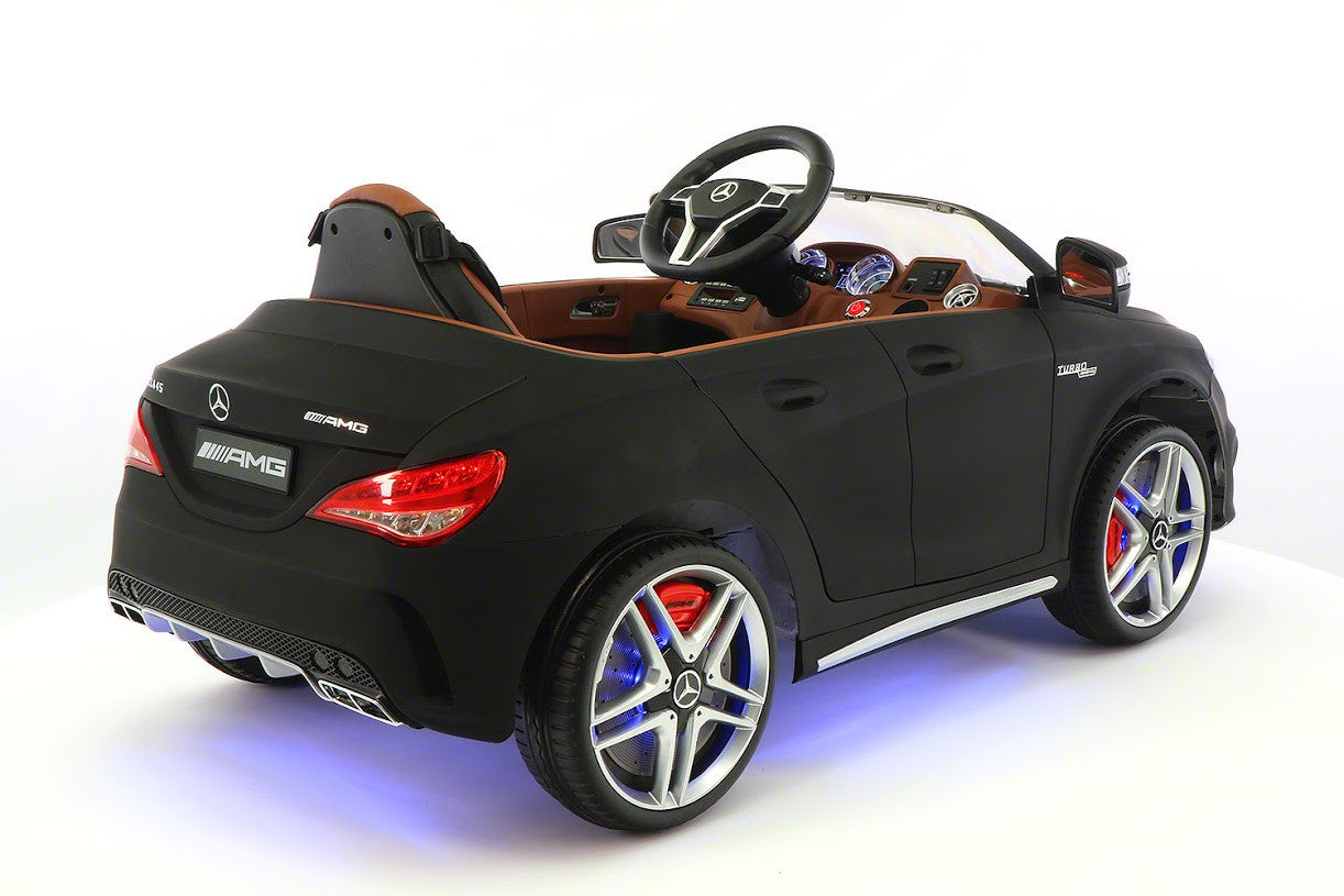 mercedes benz cla45 kids ride on car toy mp3 usb 12v bat. Black Bedroom Furniture Sets. Home Design Ideas